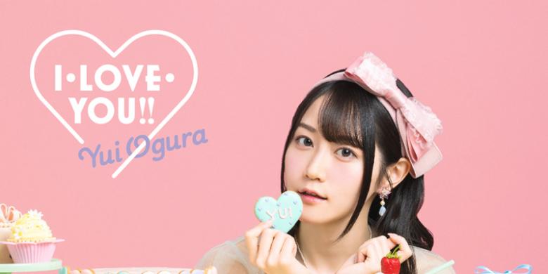 小仓唯第11张单曲「I・LOVE・YOU!!」公开封面图