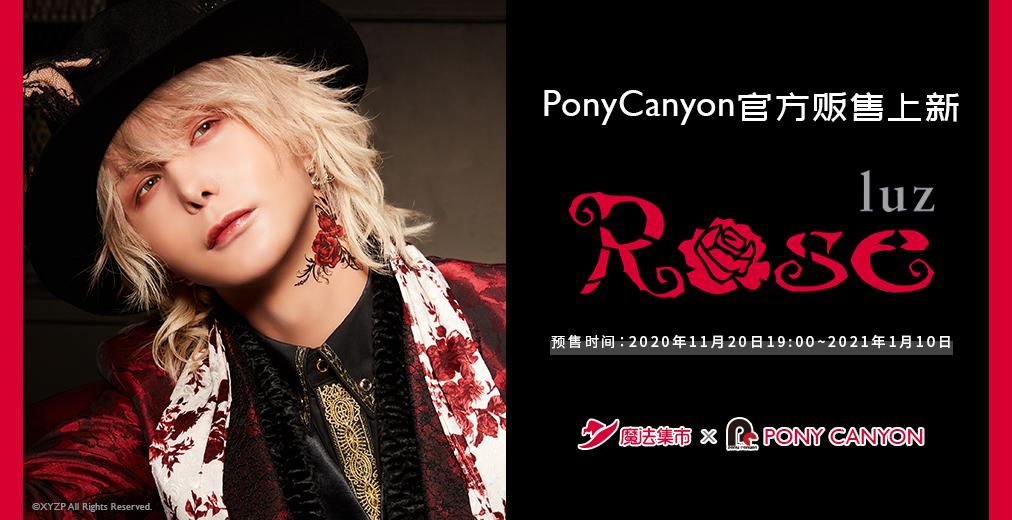 【官方合作】luz单曲「Rose」预售开始!